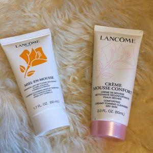 Lancôme foaming make-up remover